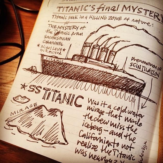 titanic-sketchnote